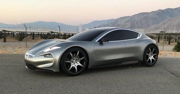 Fisker представит в Лас-Вегасе на CES-2018 электромобиль Emotion