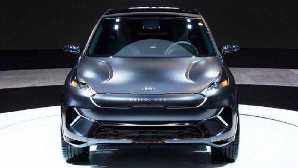 KIA представила на CES-2018 электрический кроссовер Niro EV