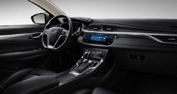 Компания Geely представила официальные снимки обновленного седана Emgrand 7