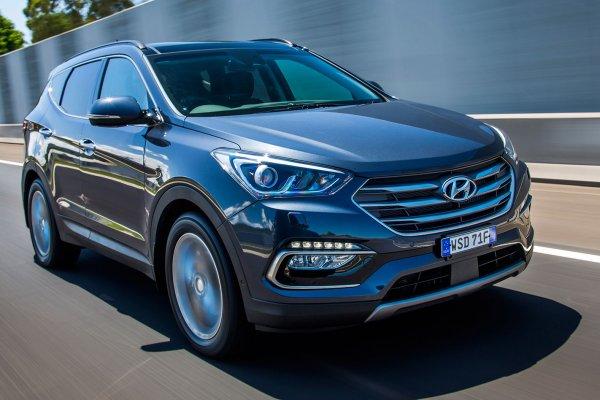 Опубликованы первые изображения нового кроссовера Hyundai Santa Fe