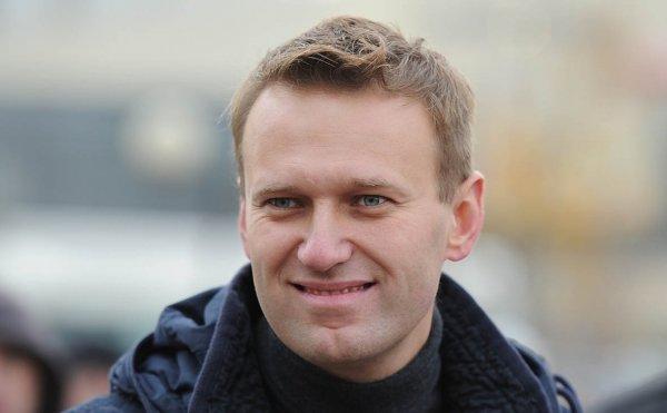 В Москве задержали на митинге оппозиционера Навального