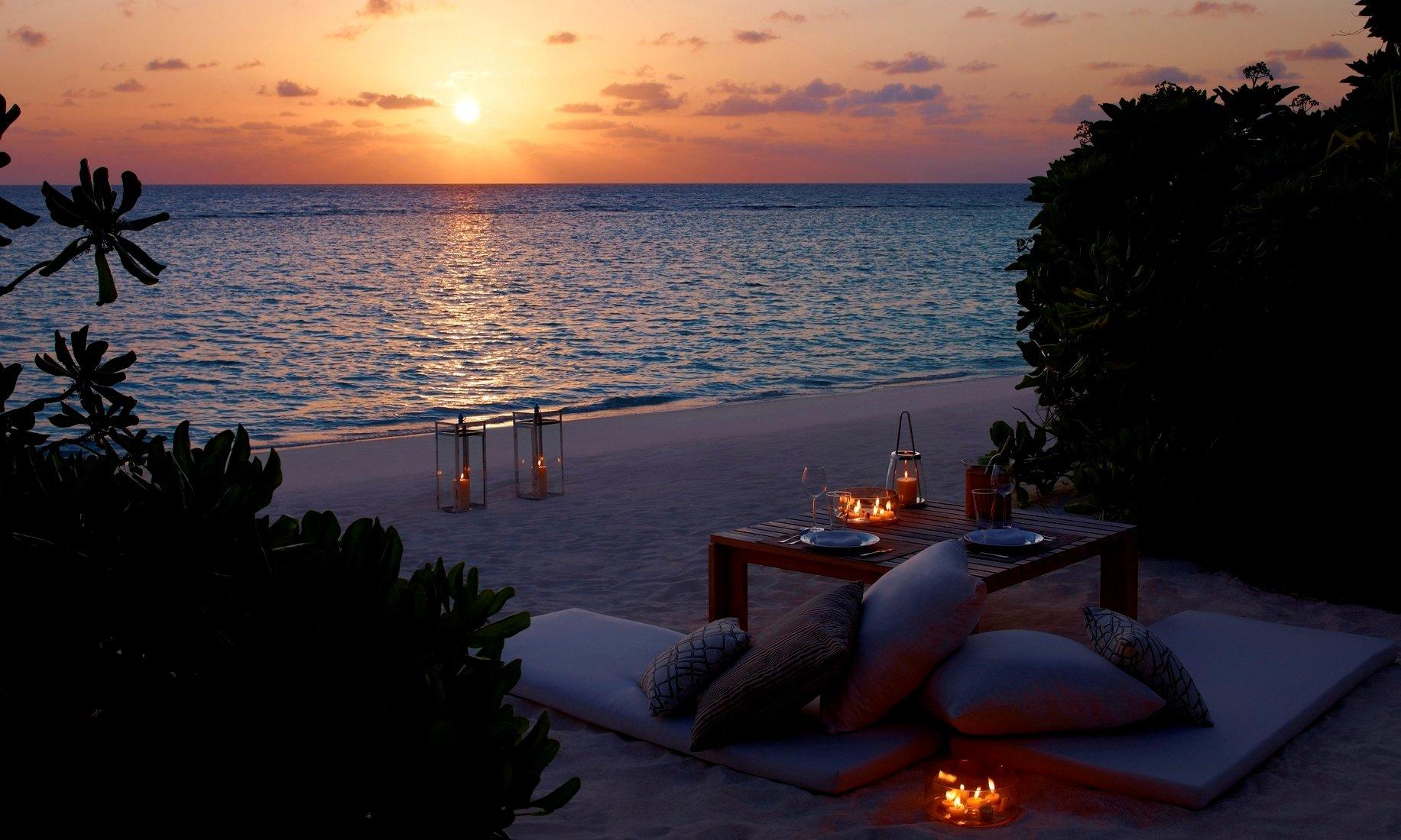Ниндзя, романтические картинки море
