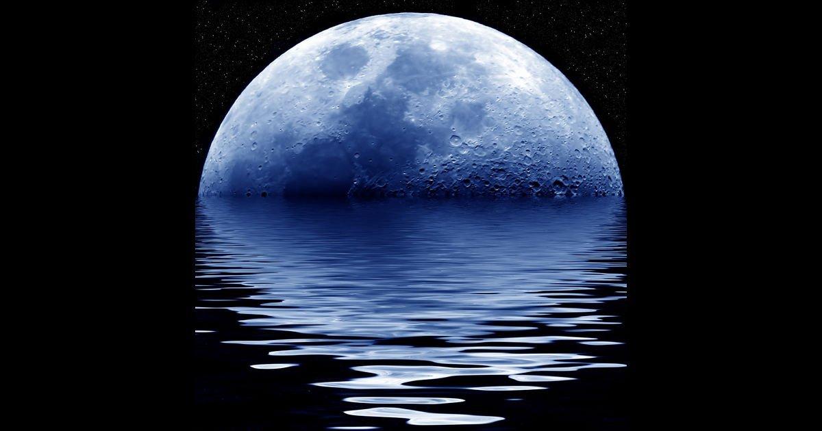 Картинки с отражением луны, днем