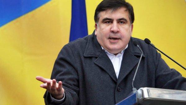 Михаил Саакашвили был задержан полицией в центре Киева