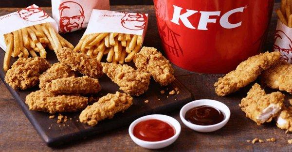 В Великобритании рестораны сети KFC закрылись из-за дефицита курицы