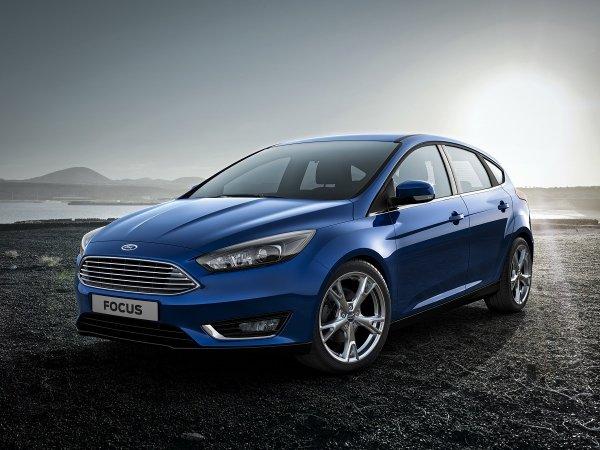 В Португалии сфотографировали обновленный Ford Focus без камуфляжа