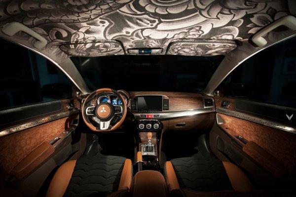 Тюнеры представили роскошный Mitsubishi Lancer Ralliart
