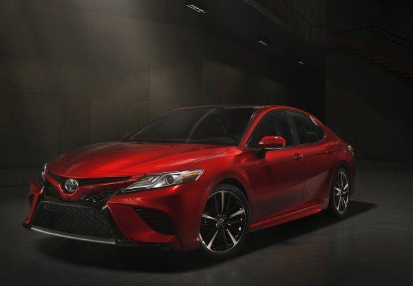 Появилась информация о российской версии нового Toyota Camry