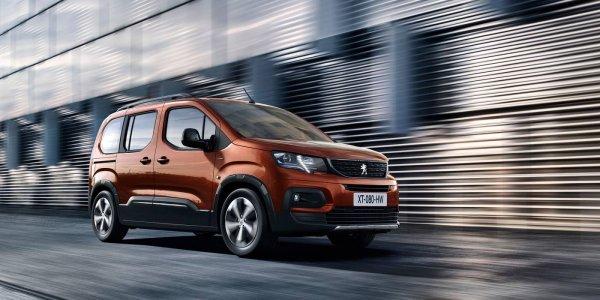 Представлен преемник Peugeot Partner - фургон Rifter