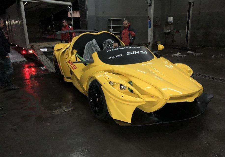 Sin Cars представила самый страшный вЖеневе модульный спорткар S1 class=