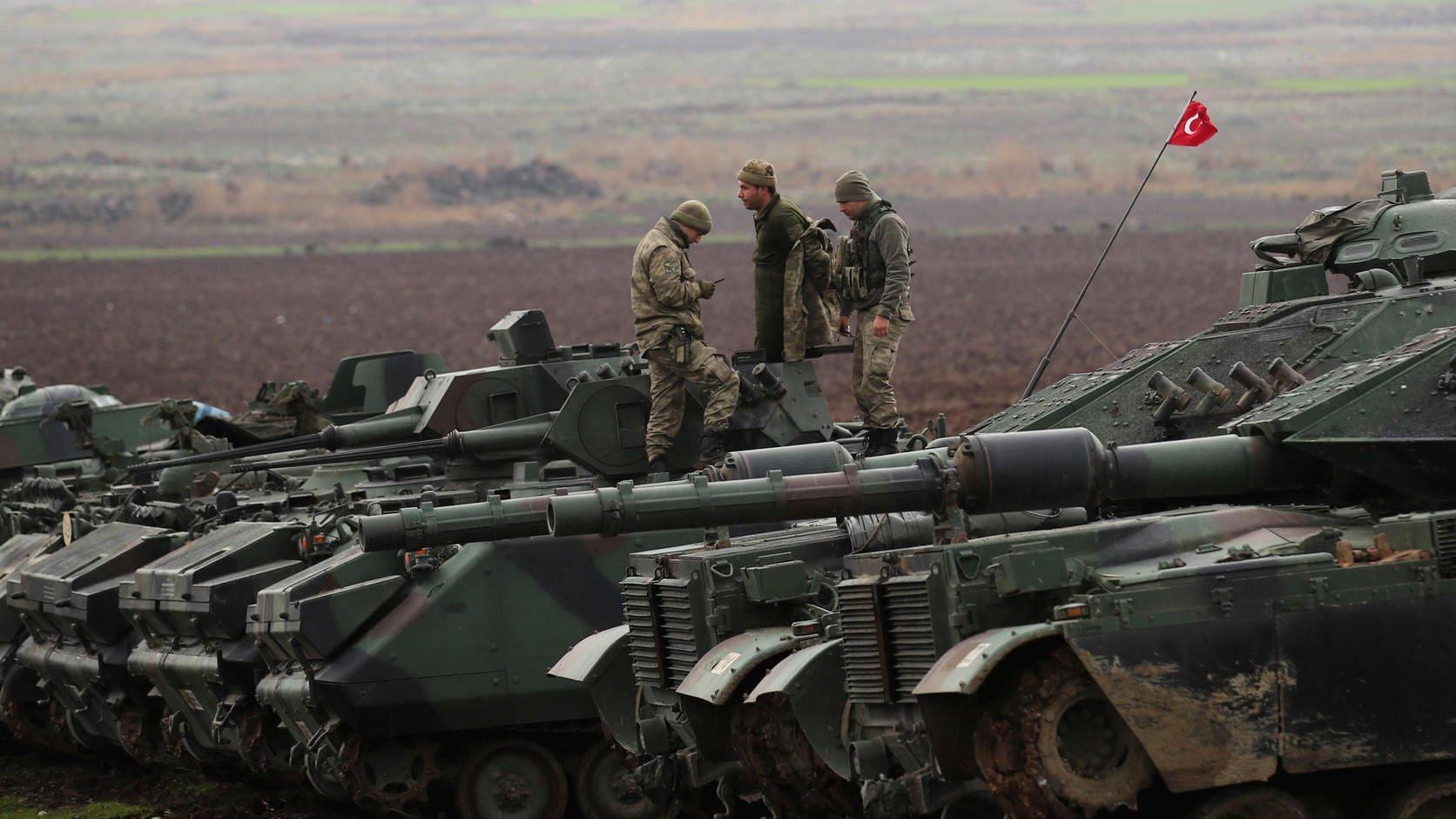 Турция впроцессе операции вАфрине ликвидировала практически 3 тыс. боевиков