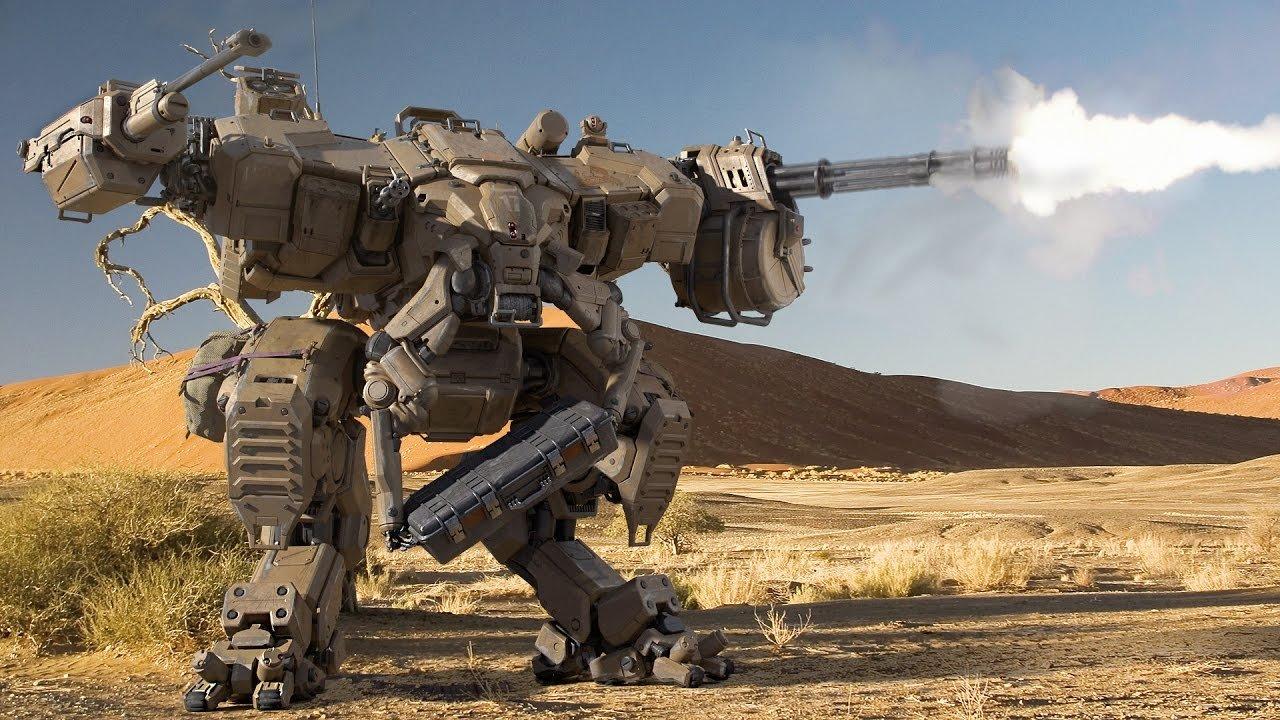 Пентагон планирует начать тестирования наземных военных роботов к 2020-ому году