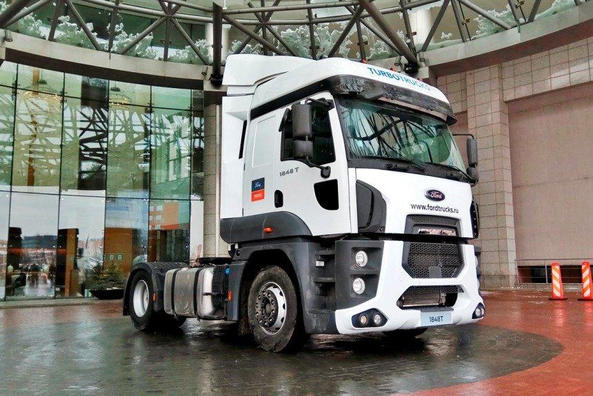 Турецкий фургон возвращается в РФ — Форд Cargo