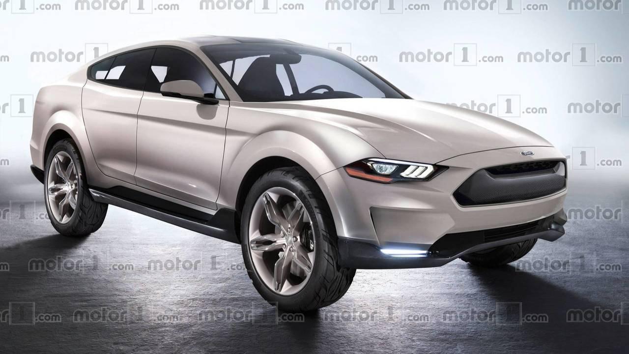 Тизер многообещающей модели кросс-купе Форд Mustang появился вглобальной паутине