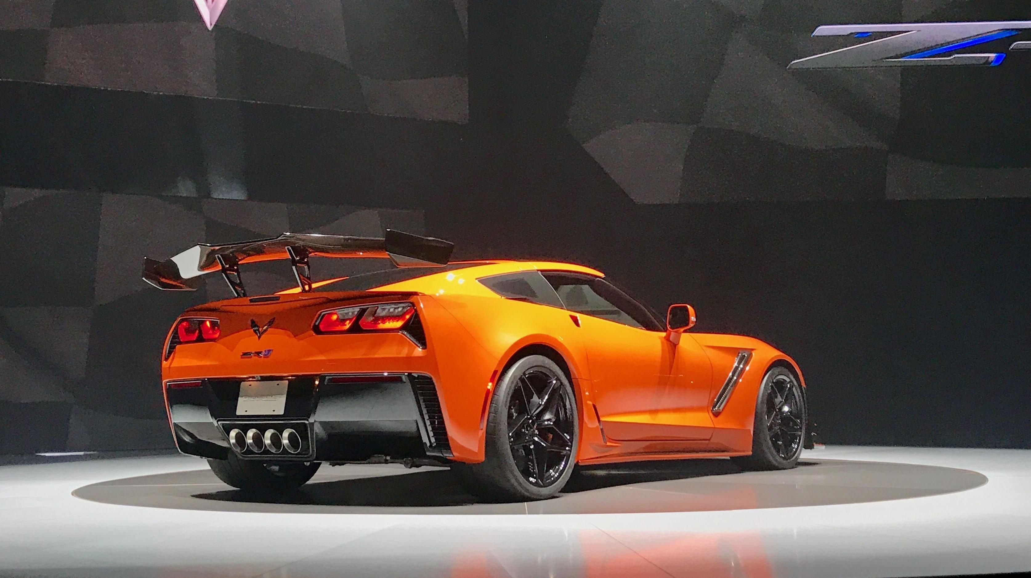 Шевроле Corvette ZR1 удивил рекордной мощностью ивременем разгона