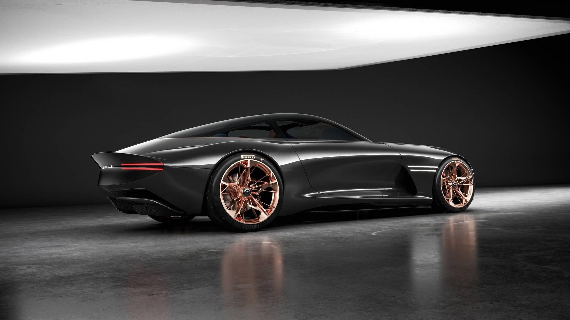 Genesis продемонстрировал вНью-Йорке чудный суперкар будущего