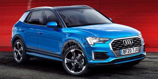 Самый маленький кроссовер Audi дебютирует через два года