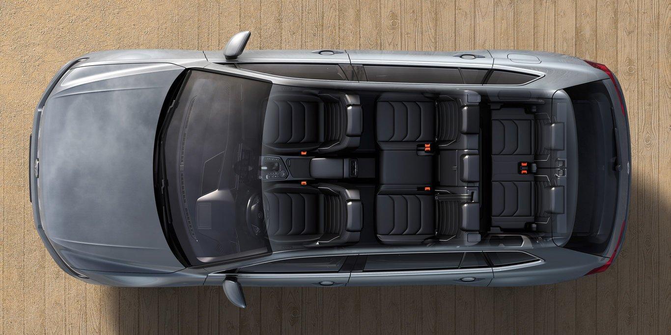 Компания VW озвучила характеристики семиместного Tiguan Allspace