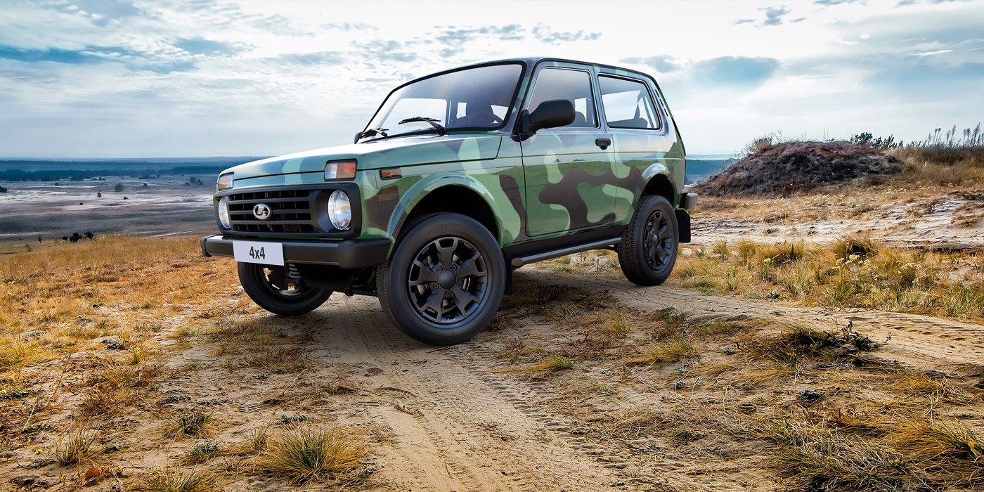 АвтоВАЗ выпустил специальную версию lada 4X4 class=