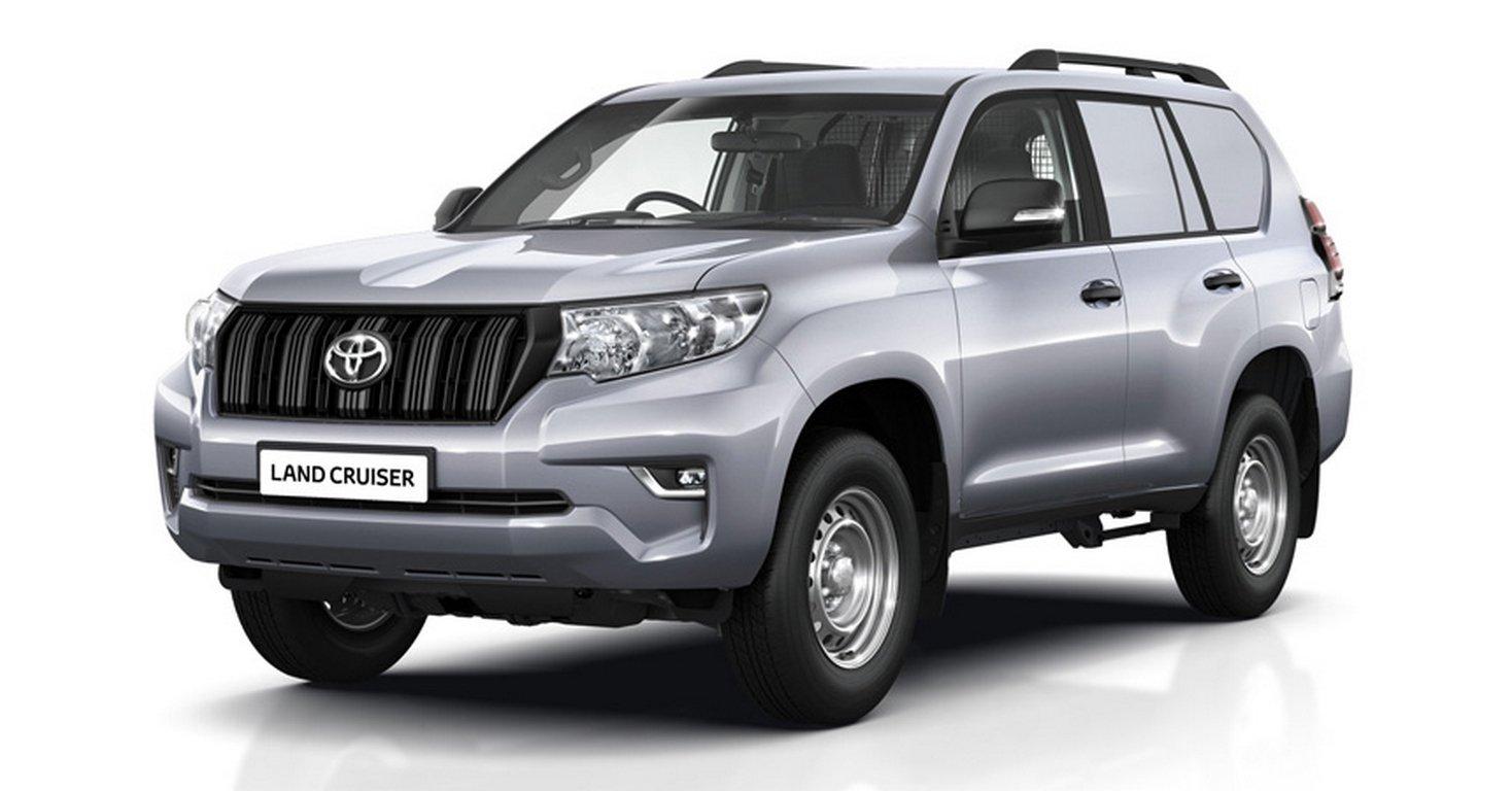 Обновленный Land Cruiser Prado примерил роль утилитарного фургона