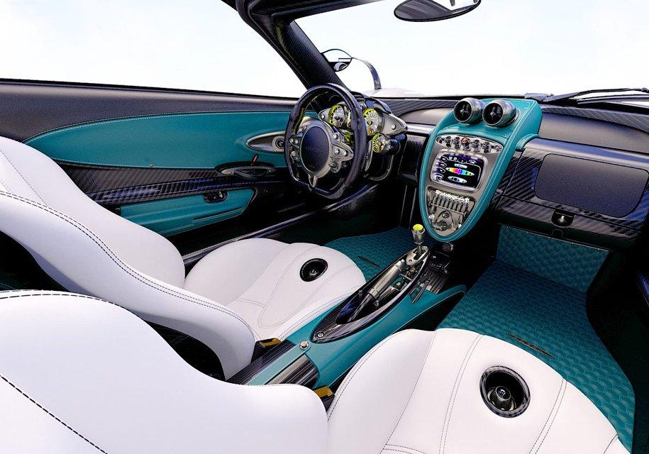 Последний экземпляр Pagani Huayra превратили в«Серебрянную стрелу» из«Формулы 1»