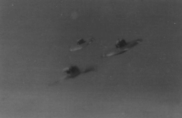 Отшельник показал снимки кораблей инопланетян, сделанные в середине XX века