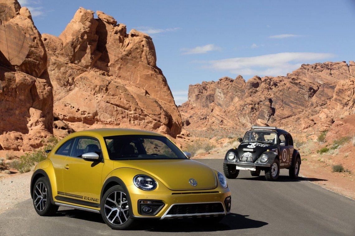 Фольксваген Beetle 2018 года снабдят новым мотором
