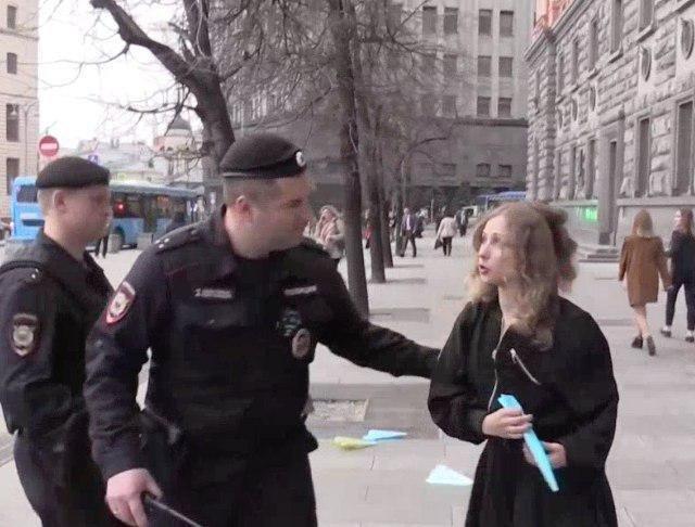 Mash: В столице России задержаны двое участников протеста вподдержку Telegram