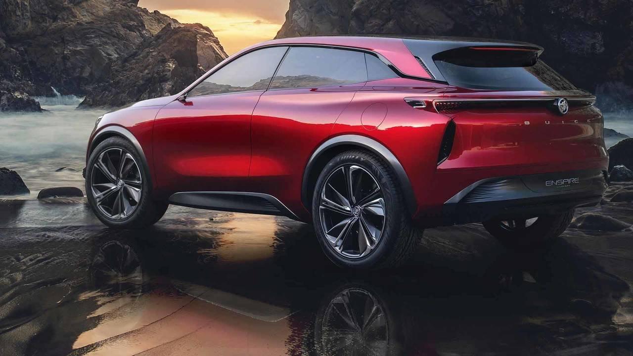 Компания Buick презентовала электрический кроссовер