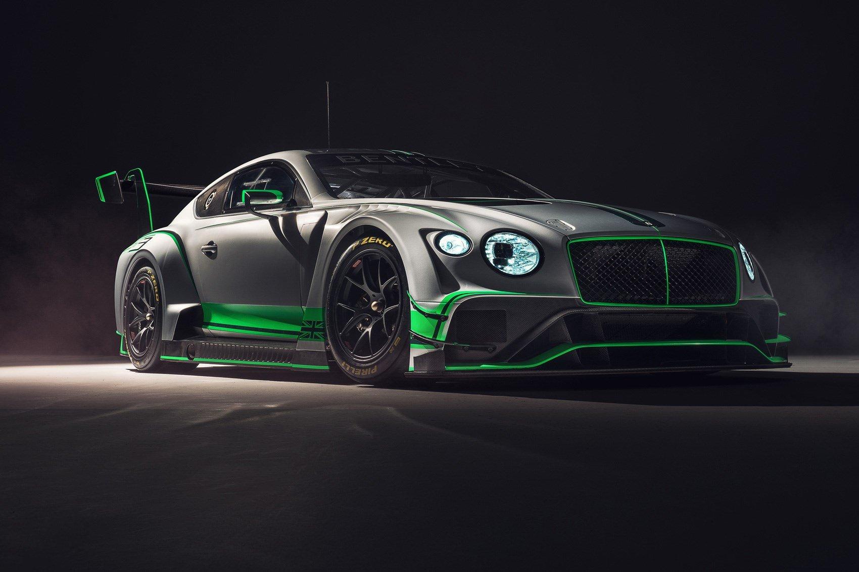 Вскоре дебютирует новое экстремальное купе Бентли континенталь GT3