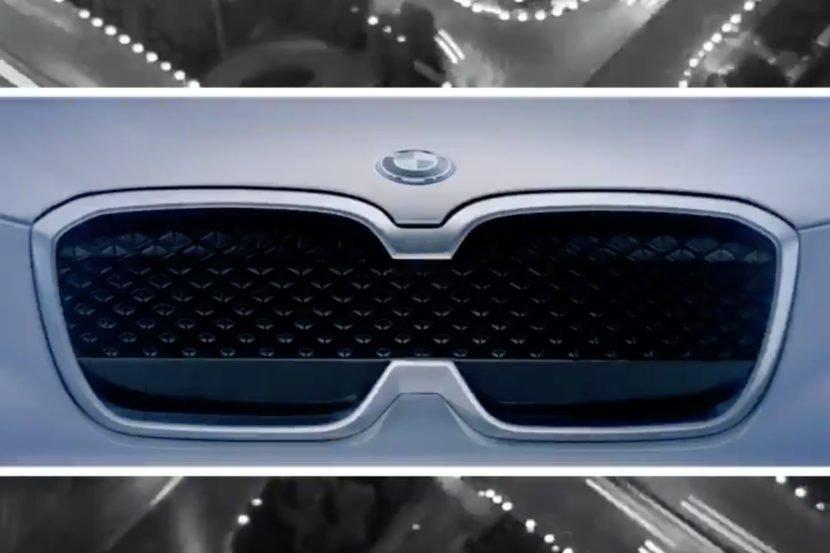 БМВ представили видео-тизер нового электрического кроссовера iX3