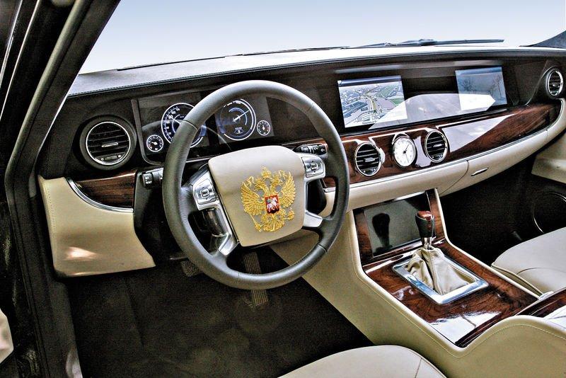 Путин может прибыть наинаугурацию нановом бронированном автомобиле «Кортеж»