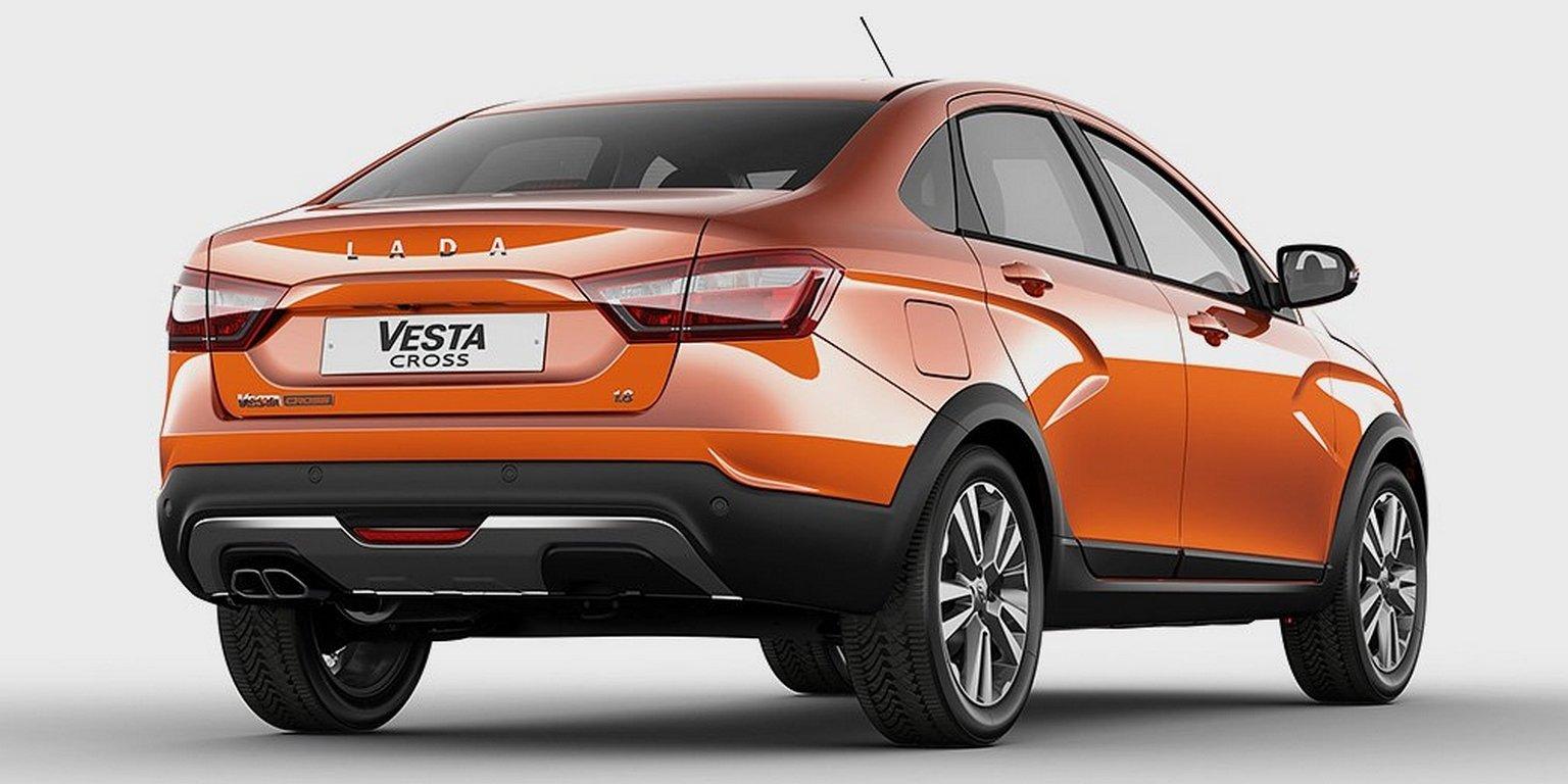 Названы сроки начала продаж внедорожного седана lada Vesta Cross