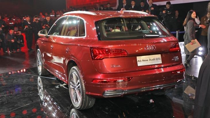 ВПекине состоялась презентация удлиненной версии кроссовера Audi Q5 L
