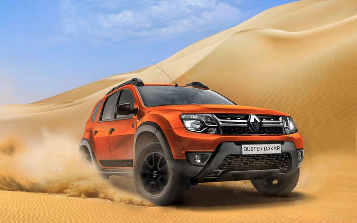 Renault предлагает россиянам Duster в стиле ралли Dakar