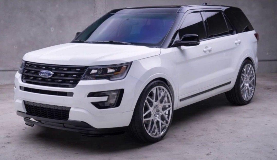 Первое официальное изображение— Новый Форд Explorer