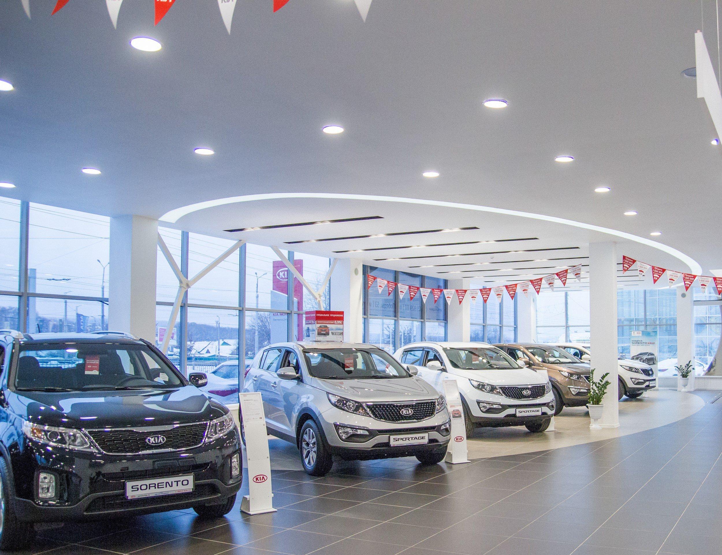 Кия открыла вОмске новый дилерский центр