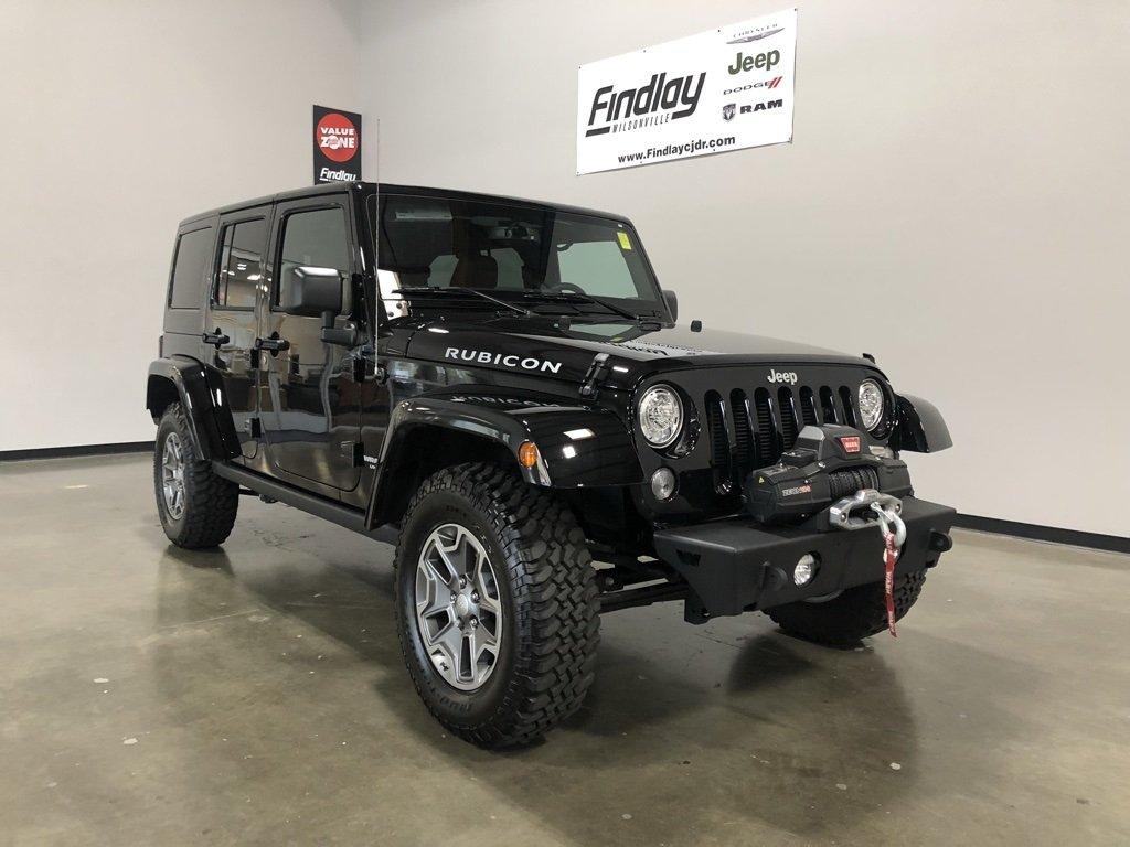 Jeep представил чудный 4-дверный джип Rubicon Unlimited