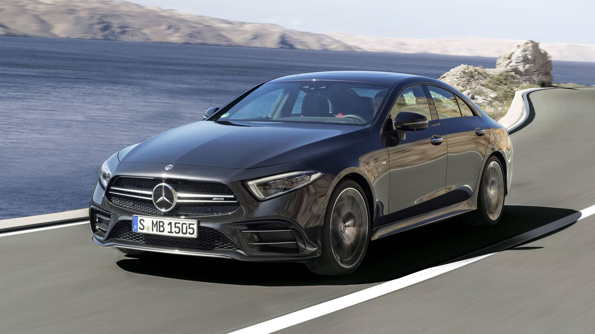 Улучшенный Mercedes-AMG CLS 53 снова попался фотошпионам