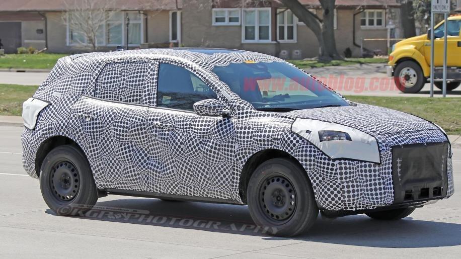 Вглобальной web-сети Интернет появились фото нового Форд Escape