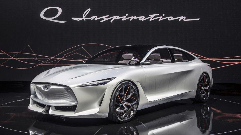 Infiniti готовится к запуску линейки электромобилей