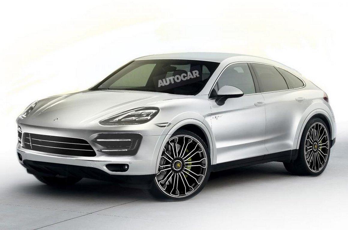 Новый Порш Cayenne Coupe может дебютировать доконца года