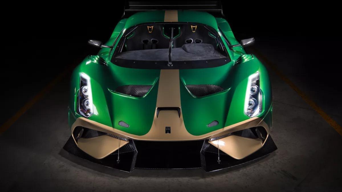 Brabham представил трековый суперкар заодин млн. фунтов стерлингов