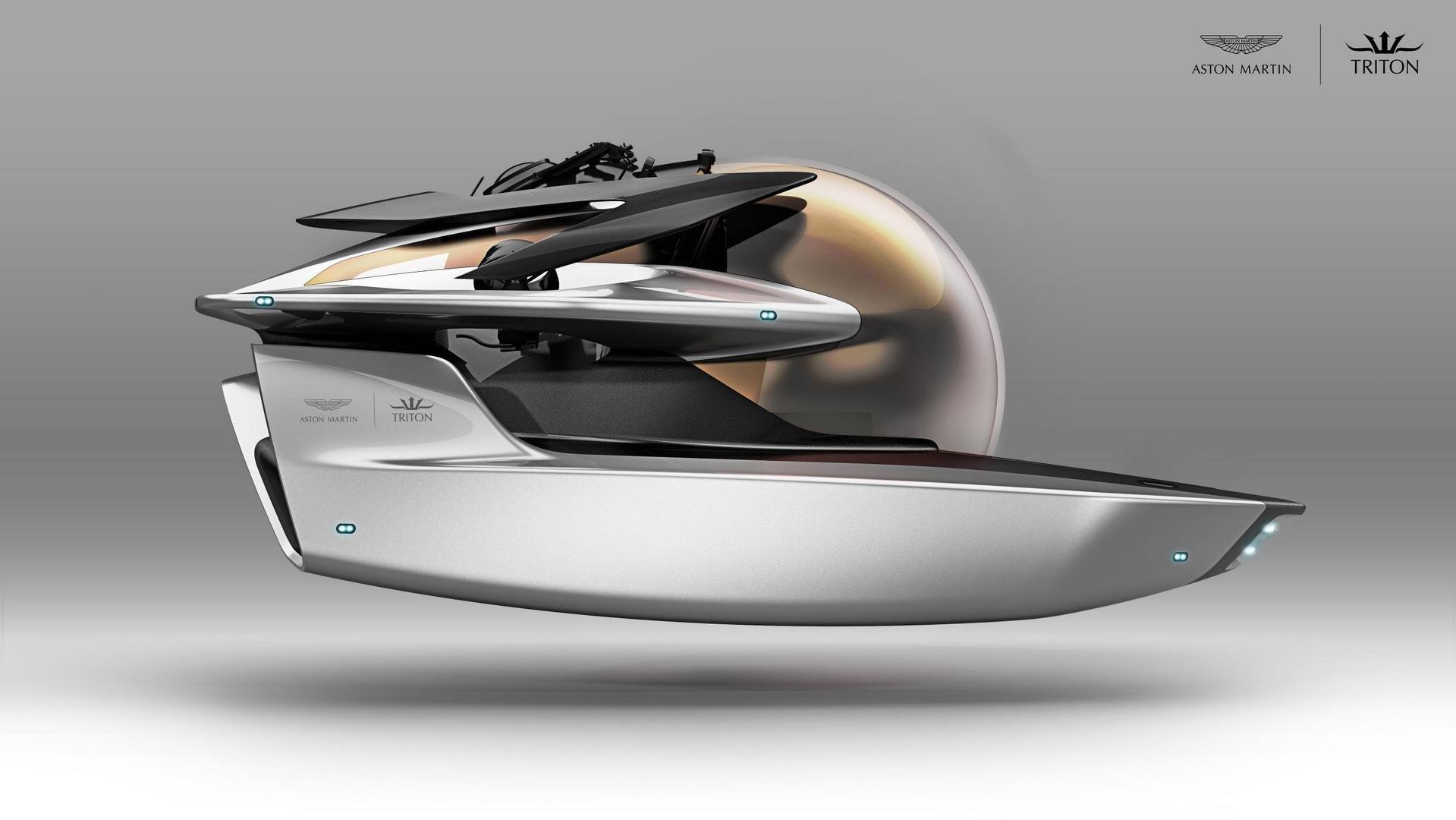 Астон Мартин готовится представить подводный Neptune Submersible