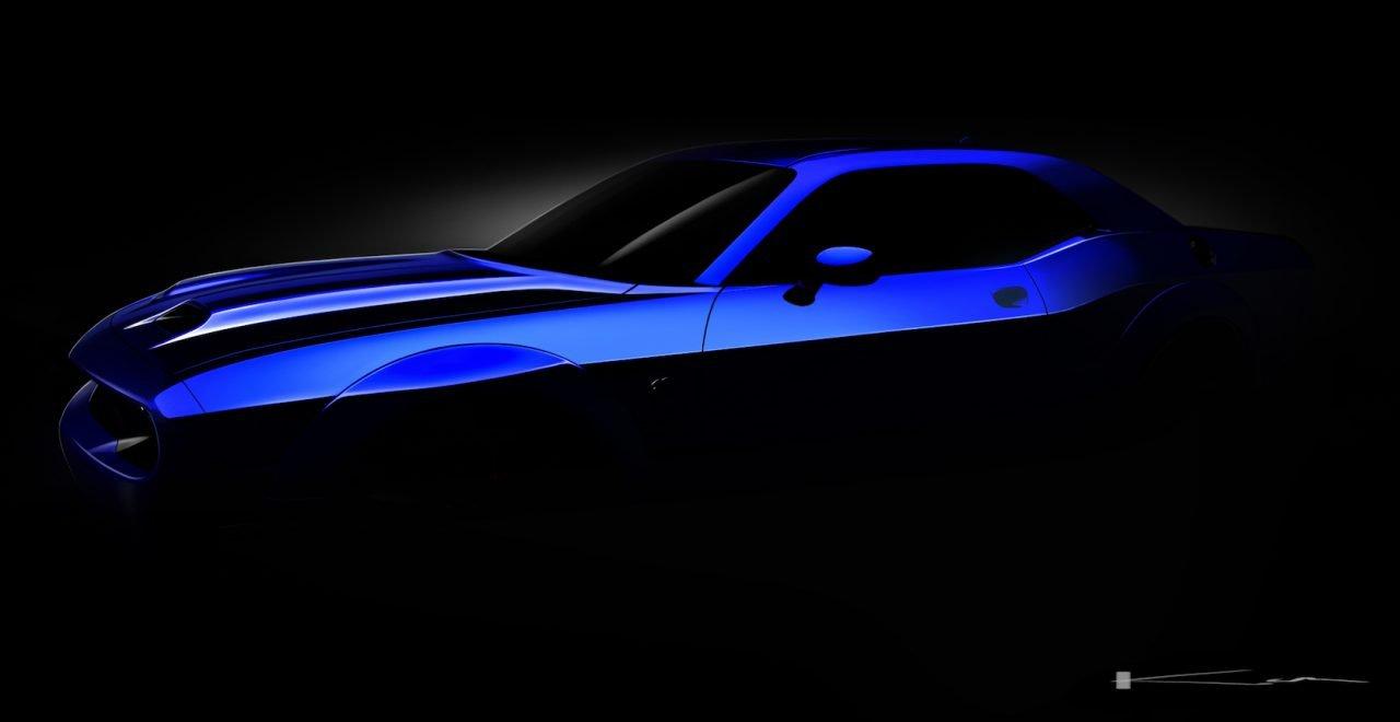 Dodge Challenger SRT Hellcat готов к мировой премьере