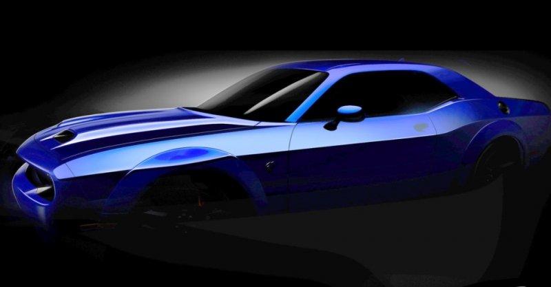 Dodge Challenger SRT Hellcat готов кмировой премьере
