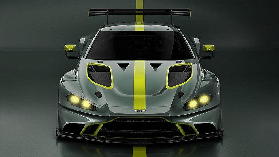 Астон Мартин представит машину GT3 обновленного поколения