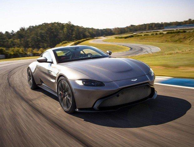Aston Martin планирует презентовать два новых гоночных Vantage