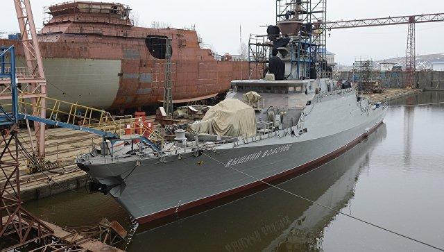 Всоставе ВМФРФ появится новый небольшой ракетный корабль изТатарстана