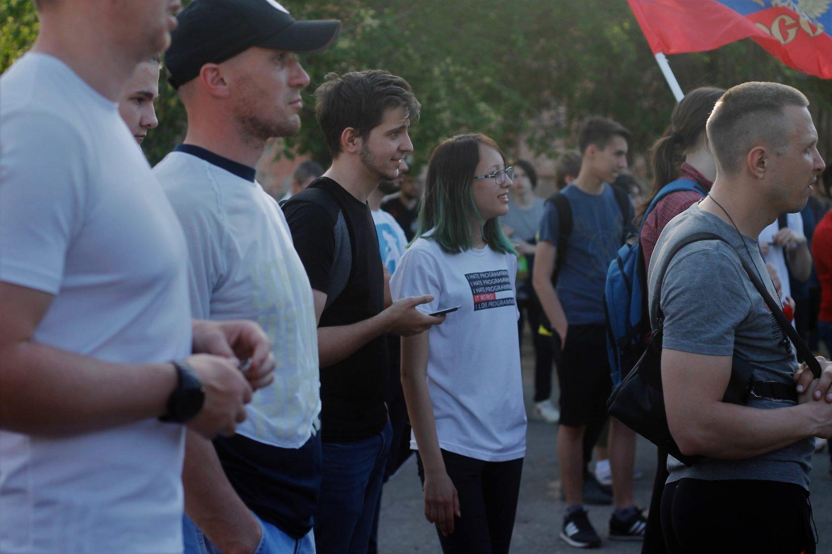 Участники протестной акции пожаловались наблокировку собственных телефонных номеров